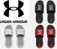 Under Armour Men's UA Playmaker Diverge USA Sandals Slides Flip Flops - 3022714