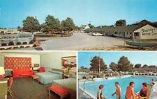PLEASANTVILLE, NJ New Jersey SHERRY'S MOTOR LODGE~Restaurant POOL~ROOM  Postcard