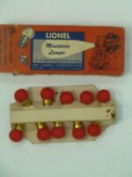 LIONEL 1950's Dealer Boxed Separate Sale L432R Replacement Light Bulbs Full Box