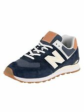New Balance Men's ML574 Trainers, Blue