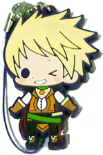 Tales of the Abyss Friends Rubber Strap Phone Strap Kotobukiya Chibi Guy Cecil
