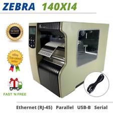 Zebra 140Xi4 Industrial Thermal Transfer Label Printer Ethernet USB UPS Firmware