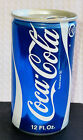 Vintage 1970's Coca Cola Blue Empty Can Test Model Prototype Can