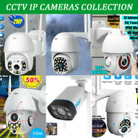 1080P HD CCTV IP Camera Waterproof Outdoor WiFi PTZ Security Wireless IR Cam NVR