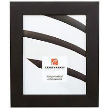 "Craig Frames, Bauhaus 59, 1.5"" Modern Black Picture Frame"