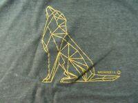 MERRELL Dog Men's Graphic T-Shirt Hiking Trekking L