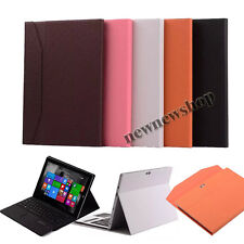 New Luxury Bluetooth Touchpad Keyboard Case Cover For Microsoft Surface 3 10.8""