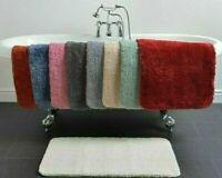 Allure Luxury Soft Absorbent Deep Pile Anti Slip Microfibre Bath Mat 50 x 80cm