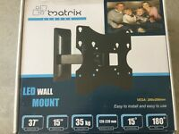 TV wall mount bracket 15-37 inch tilt and swivel