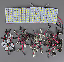 10x High Power 11w White Festoon T10 BA9S 1156 LED 48SMD Panel Interior Dome Map