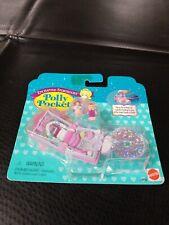 RARE POLLY POCKET 1996 Glitter Wedding Enchanted Storybook Locket *NEW & SEALED*
