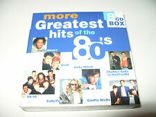 More Greatest Hits of the 80's (2000) 7 cd Box Set .NOTE CD 1 IS MISSING (7 CDS)