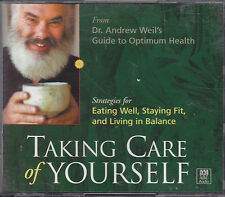 AUDIO CDs:ANDREW WEIL, TAKING CARE OF YOURSELF