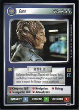 STAR TREK CCG THE BORG RARE CARD GANN