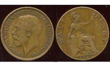 ROYAUME UNI  half  penny 1920