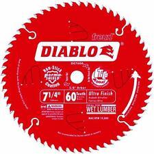 "Freud 7 1/4"" 60T Diablo Circular Saw Blade D0760A 10Pk"