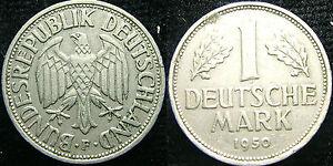 1950 Germany 1 Mark F