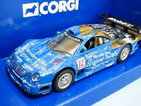 CORGI 1997 Blue Mercedes CLK GTR  FIA GT Jean-Marc Gounon Racing Car Diecast Toy