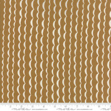 Yucatan Wave Earthenware Brown Annie Brady 16715 16 Moda Quilting Cotton Fabric