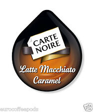 48 x Tassimo Carte Noire Latte Macchiato Caramel Coffee 24 Drinks Sold Loose