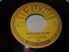 Rockabilly RAY B. ANTHONY Alice Blue Gown/St. Louis Blues 45 Sun Fifties Rock