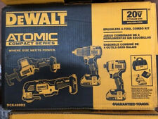 DEWALT DCK489D2 Atomic Compact Series 20V Lithium Ion brushless 4 tool combo NEW