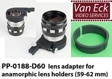 Lens adapter for anamorphic lens holders (59-62 mm) (PP-0188-D60)