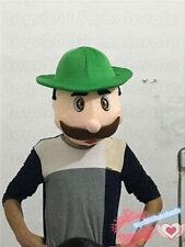Bavarian Beer Guy Mascot Costume mask  just head Oktoberfest Adults party dress