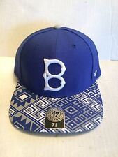37530d36989 Brooklyn Dodgers 47 Brand MLB COOP Moroc Fitted Hat Size 7 1 8 Blue