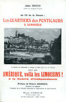 Jules Tintou - Les quartiers des Ponticauds à Limoges