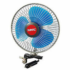 Durite 0-210-74 021074 Powerful In Vehicle 24V 24 VOLT  8 Inch Oscillating Fan