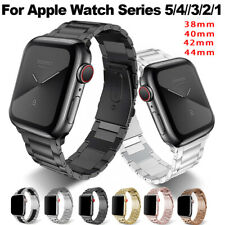 For A pple Watch Series 5/4/3/2 Stainless Steel Wrist Band iWatch Strap 38-44mm