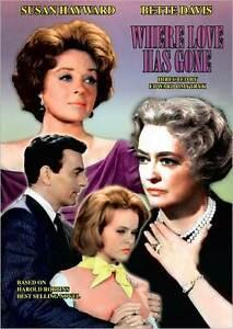 WHERE LOVE HAS GONE (Susan Hayward) - DVD - Region 1