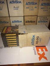 Commando for Atari 2600 Activision. Factory Box 6 Units. Brand New Sealed Games