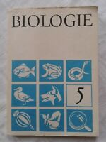 Biologie Klasse 5 Volk und Wissen DDR-Lehrbuch 1986