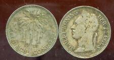 CONGO   BELGE   1 franc 1922  (  belgisch )