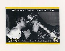 "2007-08 O-Pee-Chee Tribute Panoramic 3.5"" x 5"" Card #2 Bobby Orr"