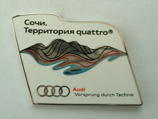 PIN'S JEUX OLYMPIQUE SOCHI 2014 - AUDI