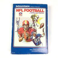 Intellivision game - NFL Football CIB, boxed