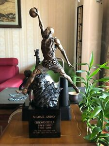 Michael Jordan God of Basketball Superstar 20in. Figure Statue Resin Collectible
