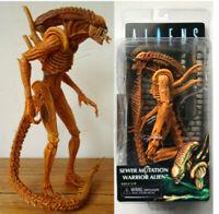 "7"" PVC Action Figure Model Toy NECA Alien Sewer Mutation Warrior Alien Xenomorph"