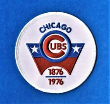 CHICAGO CUBS 1876-1976 100th ANNIVERSARY UNIFORM PATCH