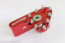 AIRTIME NEW CNC ALUMINUM BRAKE PEDAL REPLACEMENT TOE TIP - RED