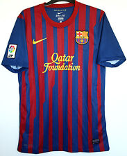 "Barcelona FC Shirt  2011/2012 Nike Home S Small 35"" - 37"" Adult Mens 11/12"