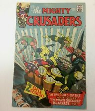 The Mighty Crusaders 6 - Radio Comics (Archie) 1966 - Fly-Man/Shield/Black Hood