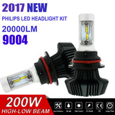 9004 HB1 LED Kits Lumileds High Low Beam Headlight Light Bulbs Ballasts VS Xenon