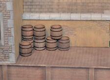 S Wood Barrels 8pcs Sn3 & 1/64 Produits MP barils bois # S002