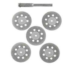 22mm Perceuse Set Rotatif Ventilé Mini Disques 5pc Pointe Diamant Tout Neuf Luxe