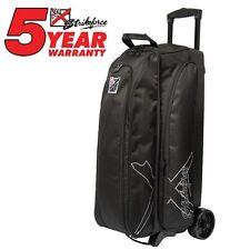 KR Strikeforce Hybrid Black 3 Ball Roller Bowling Bag