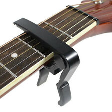 Quick Change Tune Clamp Key Trigger Capo For Acoustic Electric Guitar Black YMZ
